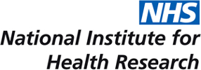 the NHS National Institute of Health Research logo