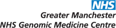 Greater Manchester NHS Genomic Medicine Centre logo